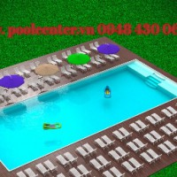 gia công hồ bơi bể bơi composite