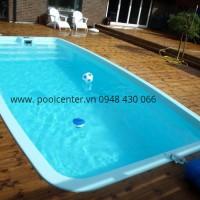 giá bể bơi mini composite,
