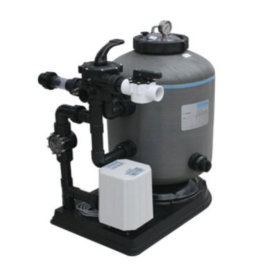 Combo bộ lọc cát kết hợp máy thổi khí làm sạch nước hồ bơi chính hãng AQUABIOME